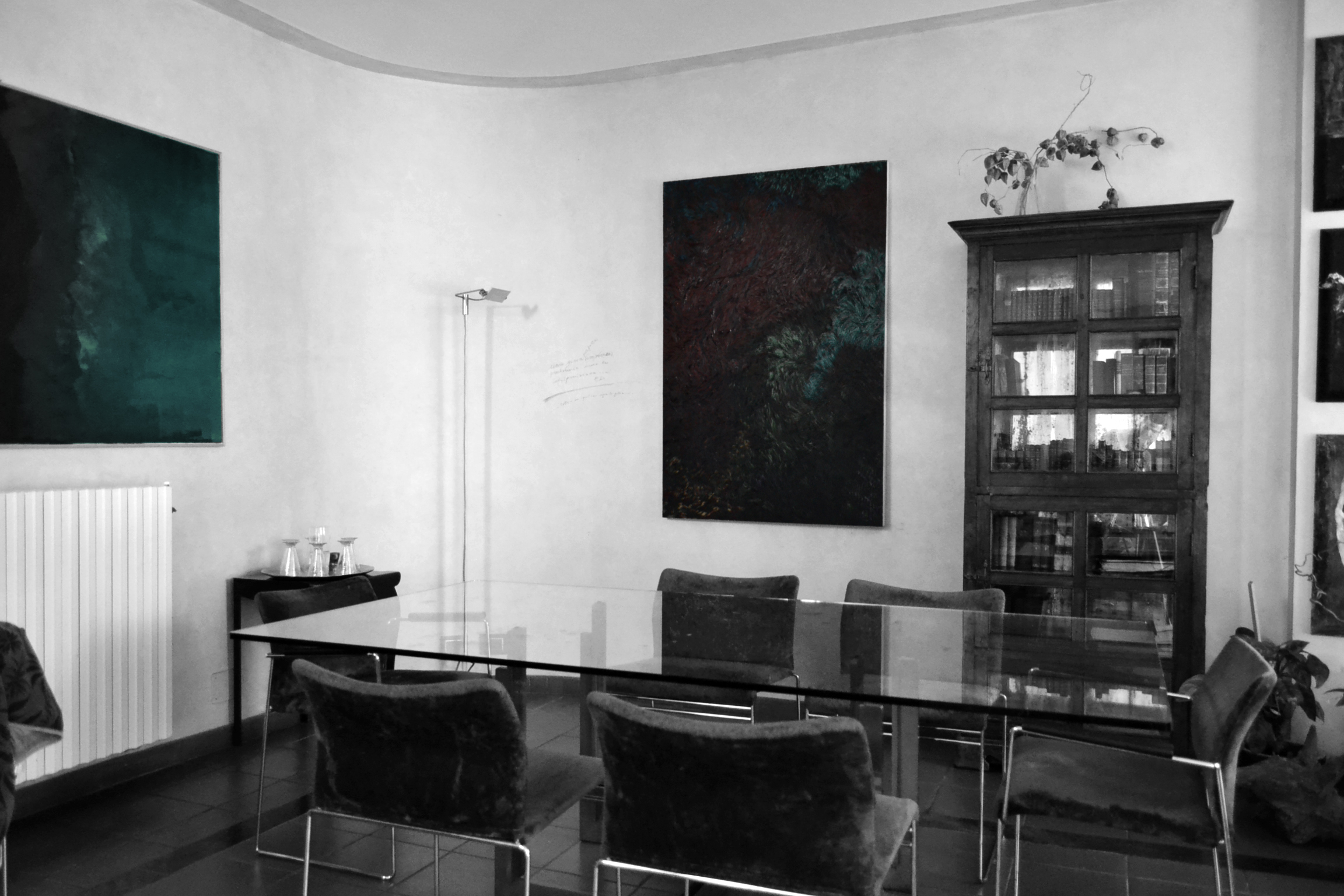Dining Room - Exposition Area - Scarpa Table Detail